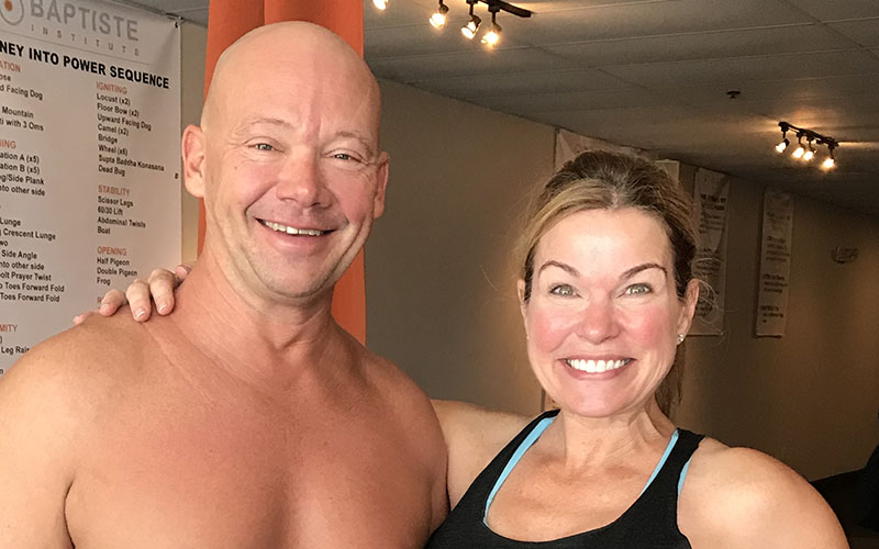 Alison Fernandez of Epic Yoga with Dan