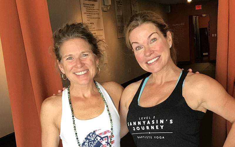 Alison Fernandez of Epic Yoga with Jessica