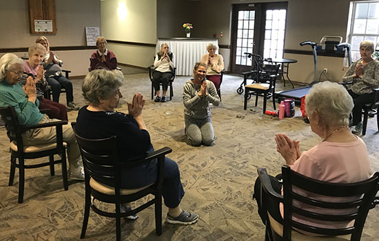 Learn More About Independent and Assisted Living Classes from The Yoga Connection 1103